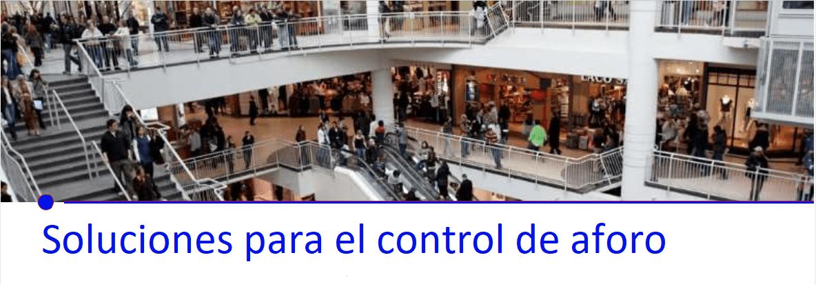 Solución para el control de aforo