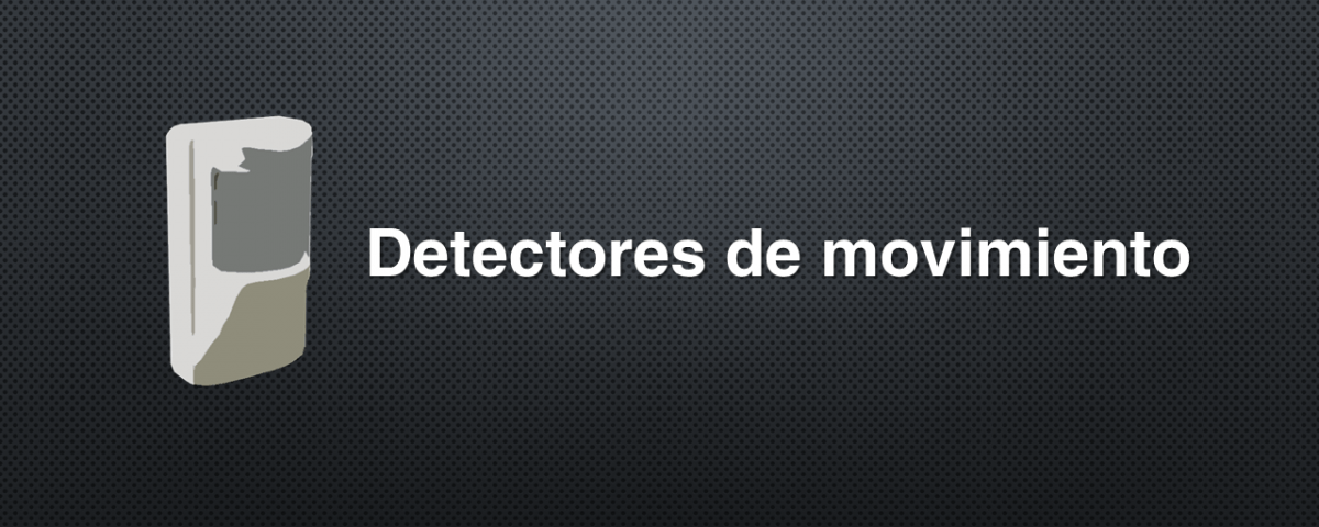 detectores de movimiento