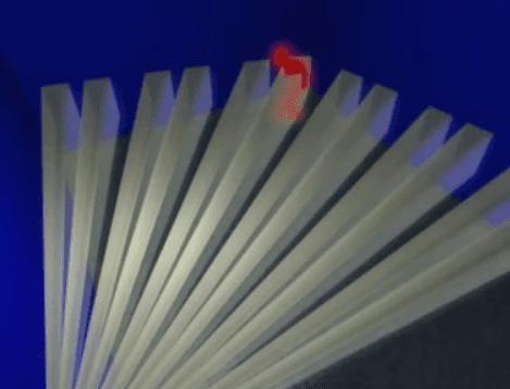 detector por infrarrojos