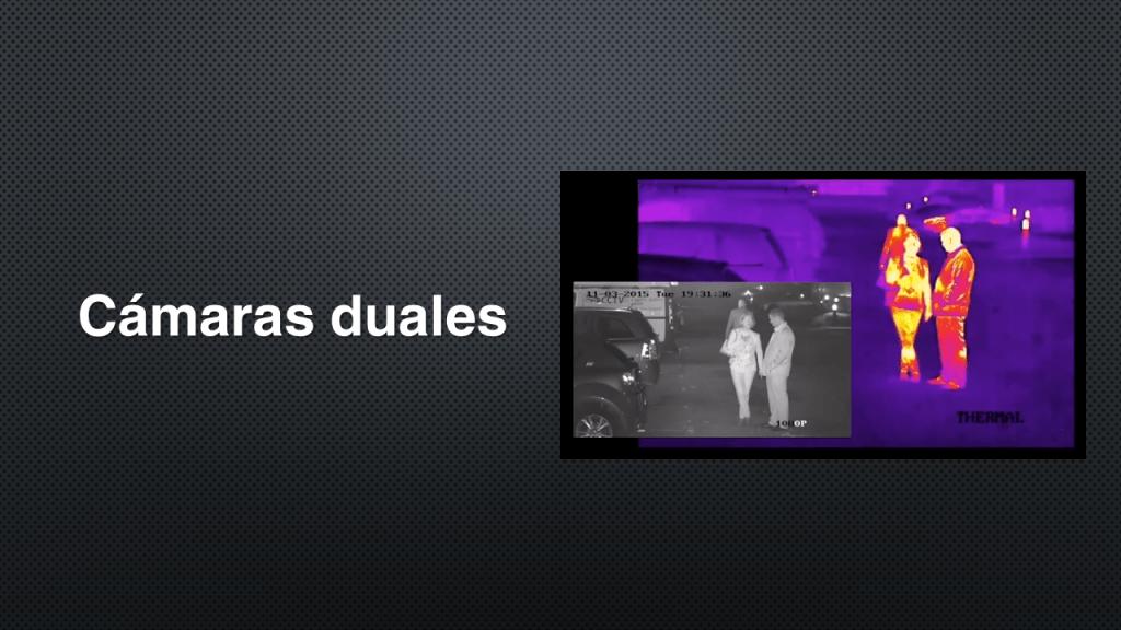 cámaras duales